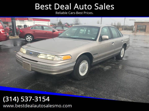1994 Ford Crown Victoria for sale at Best Deal Auto Sales in Saint Charles MO