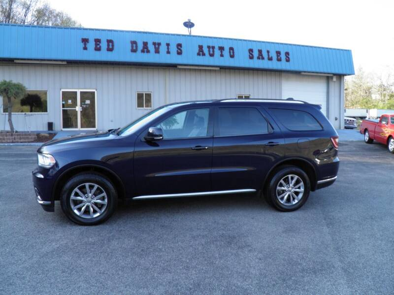 2015 Dodge Durango for sale at Ted Davis Auto Sales in Riverton WV