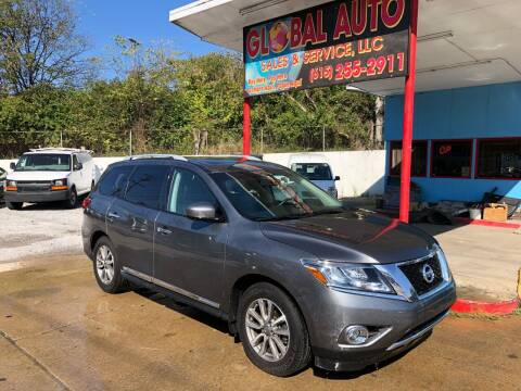 2016 Nissan Pathfinder for sale at Global Auto Sales and Service in Nashville TN