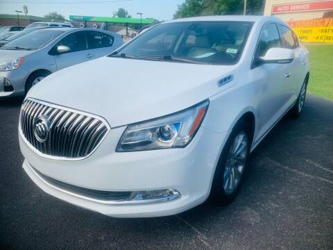 2016 Buick LaCrosse for sale at BRYANT AUTO SALES in Bryant AR