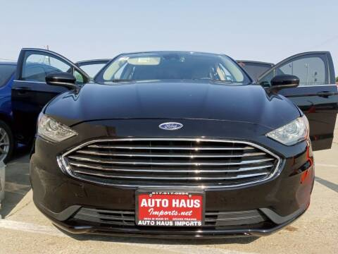 2019 Ford Fusion for sale at Auto Haus Imports in Grand Prairie TX