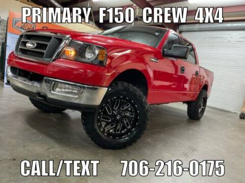 2004 Ford F-150 for sale at Primary Auto Group in Dawsonville GA