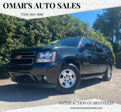 2012 Chevrolet Suburban for sale at Omar's Auto Sales in Martinez GA