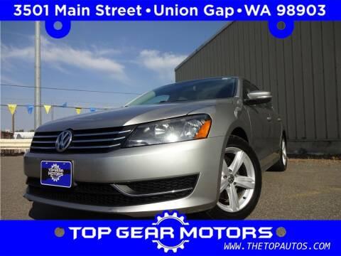 2014 Volkswagen Passat for sale at Top Gear Motors in Union Gap WA