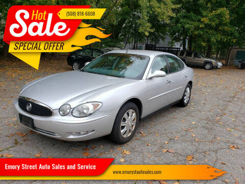 2005 Buick LaCrosse for sale at Emory Street Auto Sales and Service in Attleboro MA