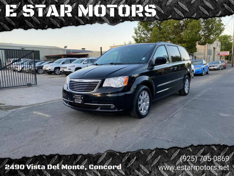 2014 Chrysler Town and Country for sale at E STAR MOTORS in Concord CA