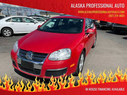 2008 Volkswagen Jetta for sale at ALASKA PROFESSIONAL AUTO in Anchorage AK