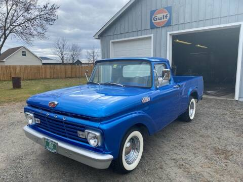 1963 Ford F-100 for sale at Olney Auto Sales in Springfield VT