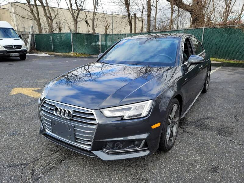 2018 Audi A4 for sale at AW Auto & Truck Wholesalers  Inc. in Hasbrouck Heights NJ