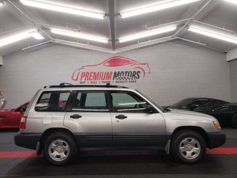2002 Subaru Forester for sale at Premium Motors in Villa Park IL