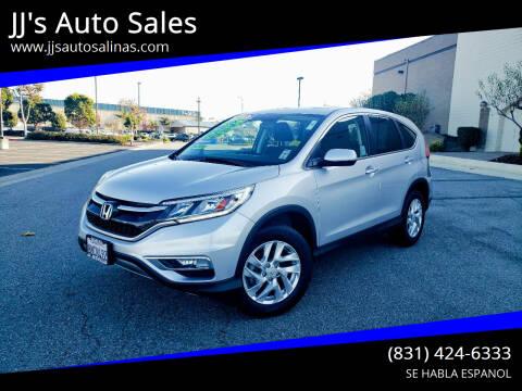 2015 Honda CR-V for sale at JJ's Auto Sales in Salinas CA