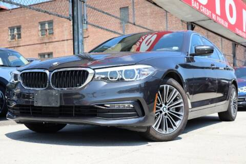 2018 BMW 5 Series for sale at HILLSIDE AUTO MALL INC in Jamaica NY