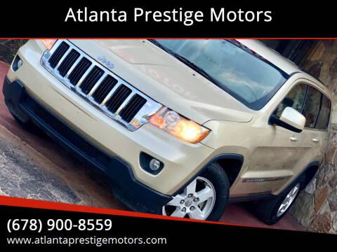2012 Jeep Grand Cherokee for sale at Atlanta Prestige Motors in Decatur GA