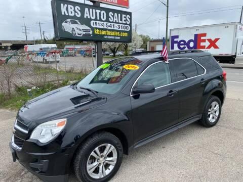 2014 Chevrolet Equinox for sale at KBS Auto Sales in Cincinnati OH