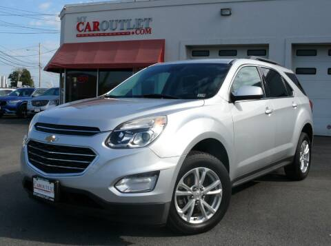 2017 Chevrolet Equinox for sale at MY CAR OUTLET in Mount Crawford VA