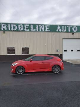 2013 Hyundai Veloster for sale at RIDGELINE AUTO in Chubbuck ID
