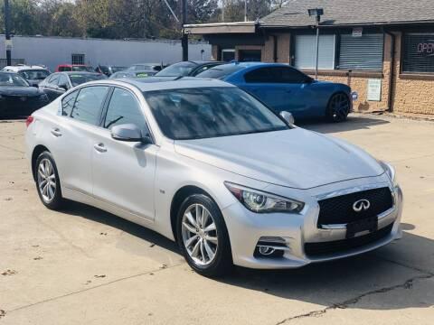2017 Infiniti Q50 for sale at Safeen Motors in Garland TX