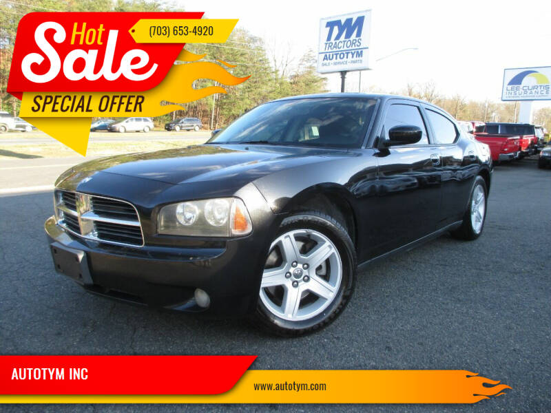 2010 Dodge Charger for sale at AUTOTYM INC in Fredericksburg VA