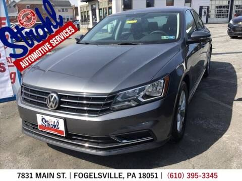 2017 Volkswagen Passat for sale at Strohl Automotive Services in Fogelsville PA