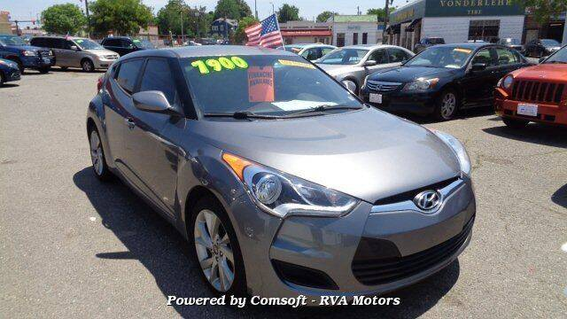 2016 Hyundai Veloster for sale at RVA MOTORS in Richmond VA