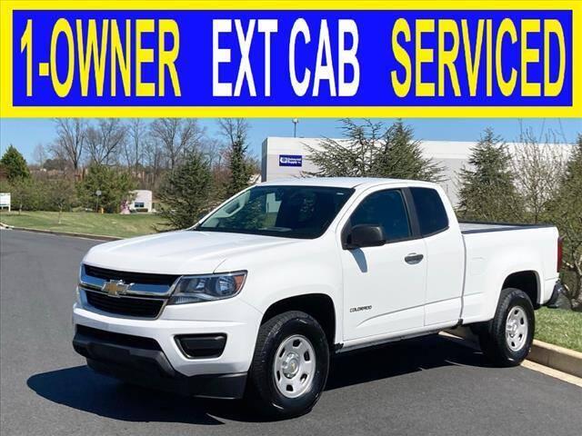 2016 Chevrolet Colorado for sale at Elite Motors INC in Joppa MD