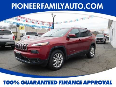 2015 Jeep Cherokee for sale at Pioneer Family auto in Marietta OH