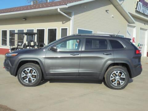 2015 Jeep Cherokee for sale at Milaca Motors in Milaca MN