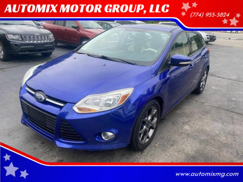 2013 Ford Focus for sale at AUTOMIX MOTOR GROUP, LLC in Swansea MA