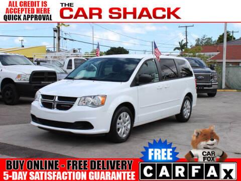 2017 Dodge Grand Caravan for sale at The Car Shack in Hialeah FL