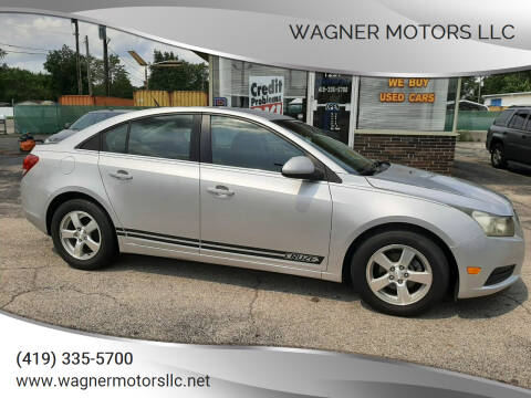 2013 Chevrolet Cruze for sale at Wagner Motors LLC in Wauseon OH