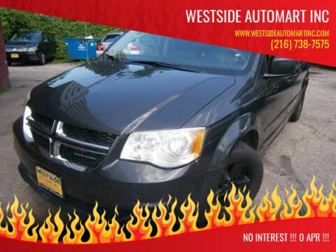 2011 Dodge Grand Caravan for sale at WESTSIDE AUTOMART INC in Cleveland OH