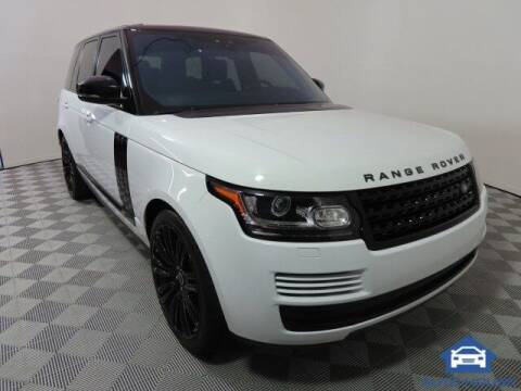 2017 Land Rover Range Rover for sale at Autos by Jeff Scottsdale in Scottsdale AZ
