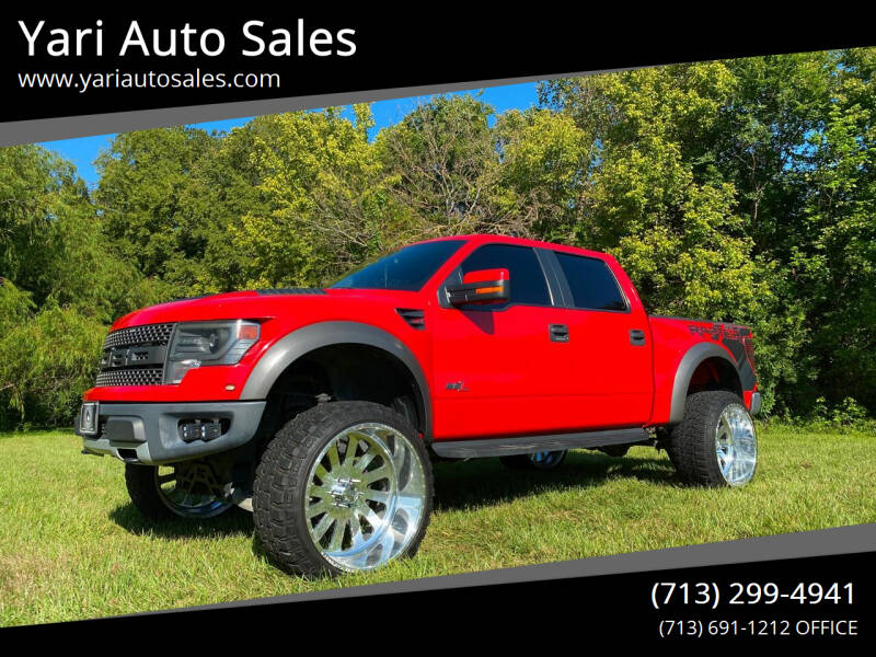2013 Ford F-150 for sale at Yari Auto Sales in Houston TX