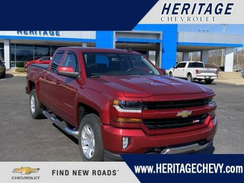 2018 Chevrolet Silverado 1500 for sale at HERITAGE CHEVROLET INC in Creek MI