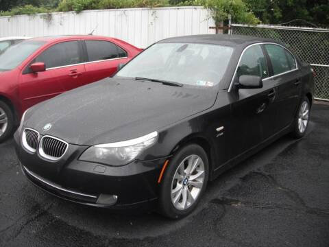 2010 BMW 5 Series for sale at Collector Car Co in Zanesville OH