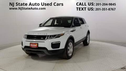 2016 Land Rover Range Rover Evoque for sale at NJ State Auto Auction in Jersey City NJ