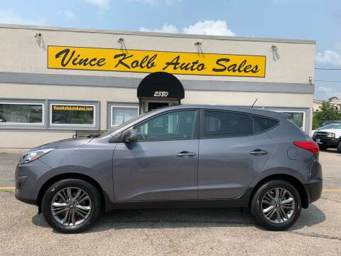 2014 Hyundai Tucson for sale at Vince Kolb Auto Sales in Lake Ozark MO