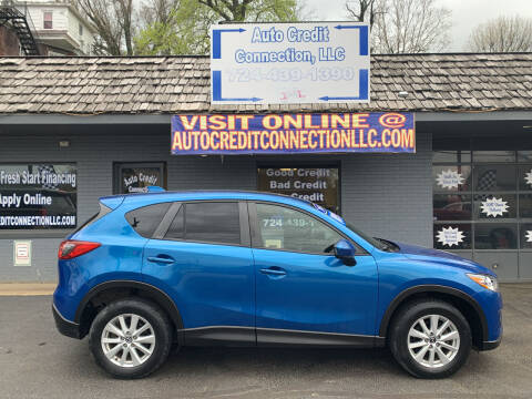 2014 Mazda CX-5 for sale at Auto Credit Connection LLC in Uniontown PA