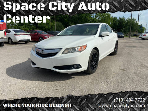 2013 Acura ILX for sale at Space City Auto Center in Houston TX