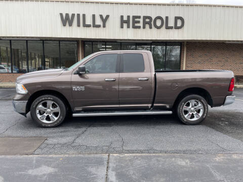 2018 RAM Ram Pickup 1500 for sale at Willy Herold Automotive in Columbus GA