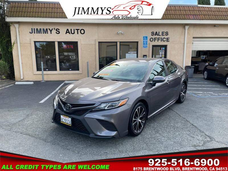 2018 Toyota Camry for sale at JIMMY'S AUTO WHOLESALE in Brentwood CA