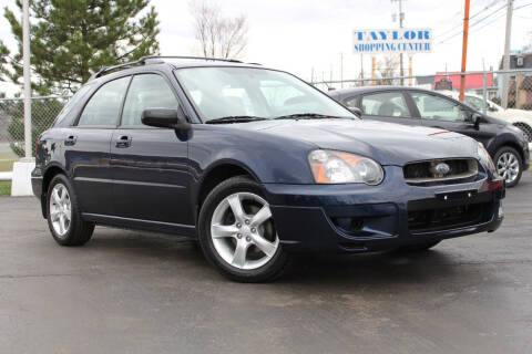 2005 Subaru Impreza for sale at Dan Paroby Auto Sales in Scranton PA