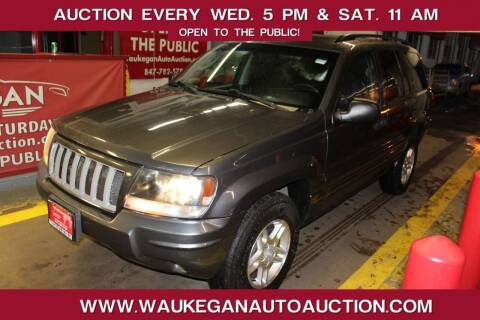 2004 Jeep Grand Cherokee for sale at Waukegan Auto Auction in Waukegan IL