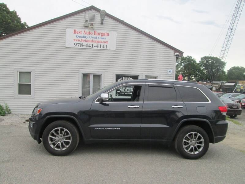 2014 Jeep Grand Cherokee for sale at BEST AUTO BARGAIN inc. in Lowell MA