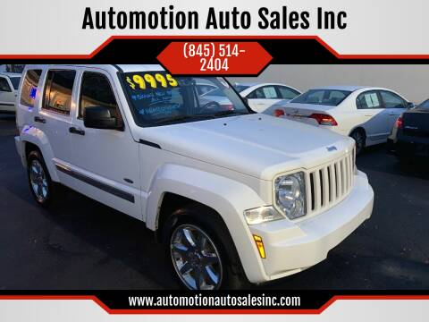2012 Jeep Liberty for sale at Automotion Auto Sales Inc in Kingston NY