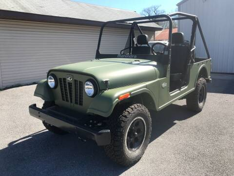 2018 Roxor Roxor for sale at Bobbys Used Cars in Charles Town WV