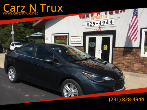 2017 Chevrolet Cruze for sale at Carz N Trux in Twin Lake MI