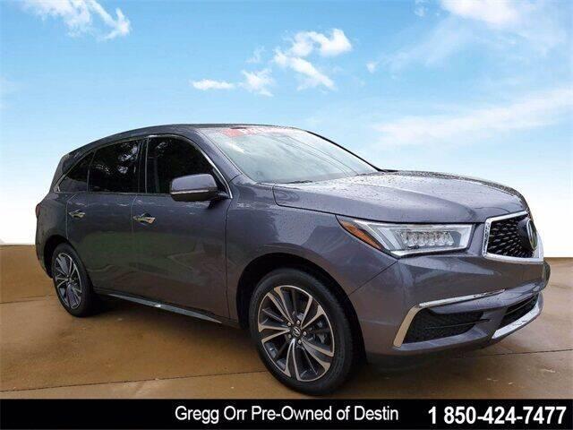 2020 Acura MDX for sale at Gregg Orr Pre-Owned of Destin in Destin FL