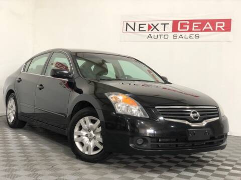 2009 Nissan Altima for sale at Next Gear Auto Sales in Westfield IN