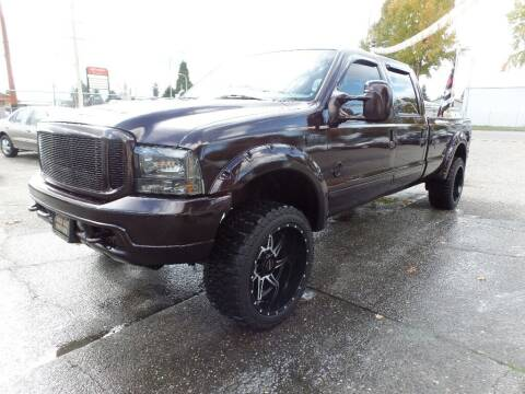 2002 Ford F-350 Super Duty for sale at Gold Key Motors in Centralia WA